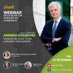 Webinar com Dr. Andreas Schleicher