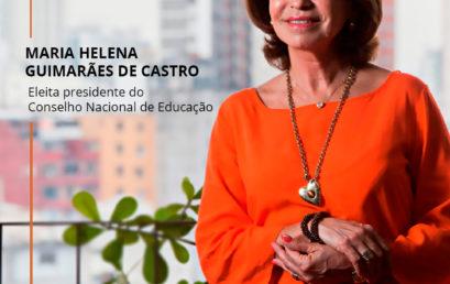 Maria Helena Guimarães de Castro eleita presidente do CNE