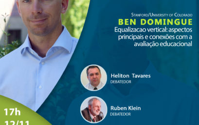 Webinar com Ben Domingue